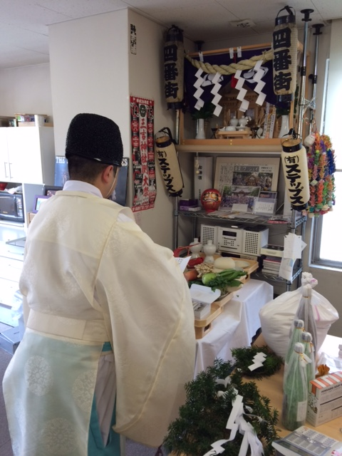 STEPS創業満19周年記念の神事を三吉神社さまにお願いして、ご祈祷いただきました!(^^)
