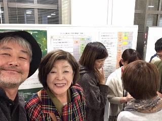 当会鉢代表理事、キャンドル制作部会黒田理事^^
